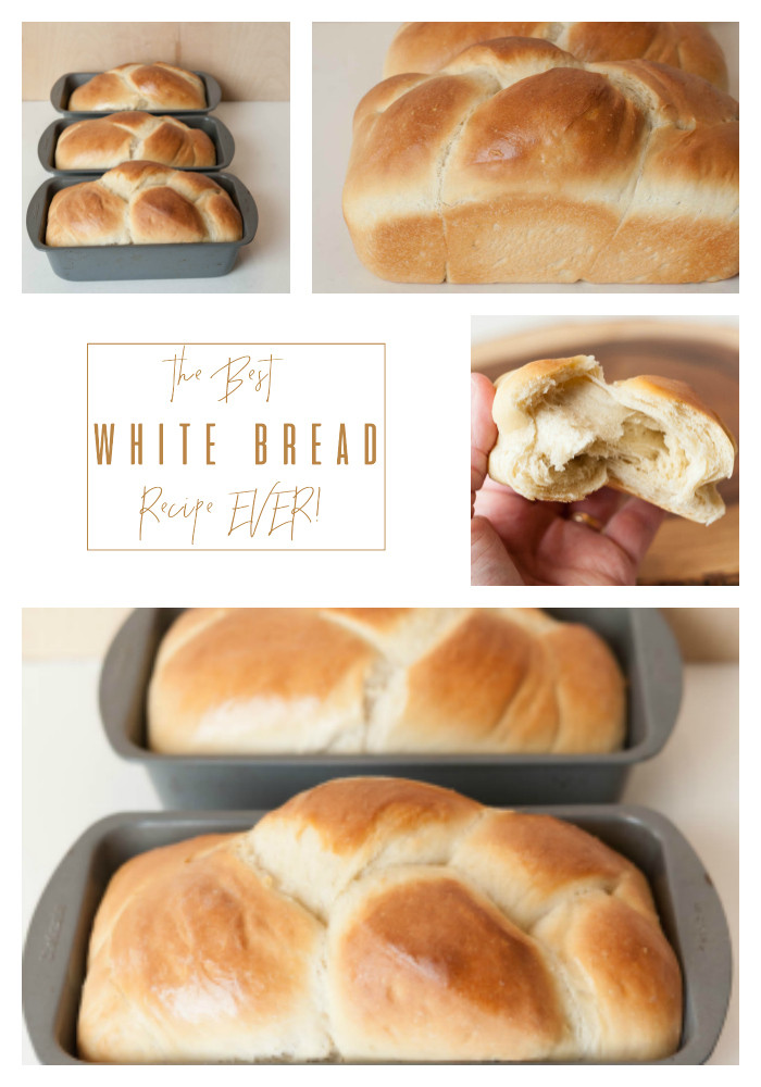 Best White Bread Recipe  Best White Bread Recipe EVER