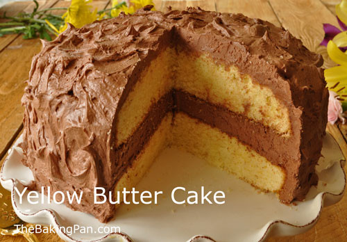 Best Yellow Cake Recipe  Yellow Butter Cake Recipe