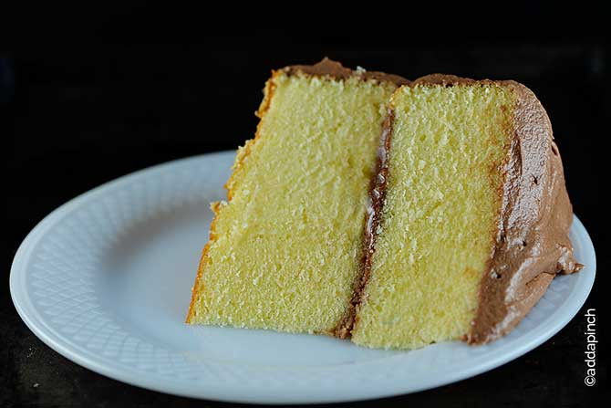 Best Yellow Cake Recipe  The Best Classic Yellow Cake Recipe Add a Pinch
