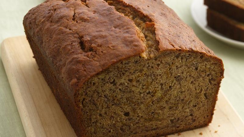 Betty Crocker Banana Bread  Whole Grain Banana Bread recipe from Betty Crocker