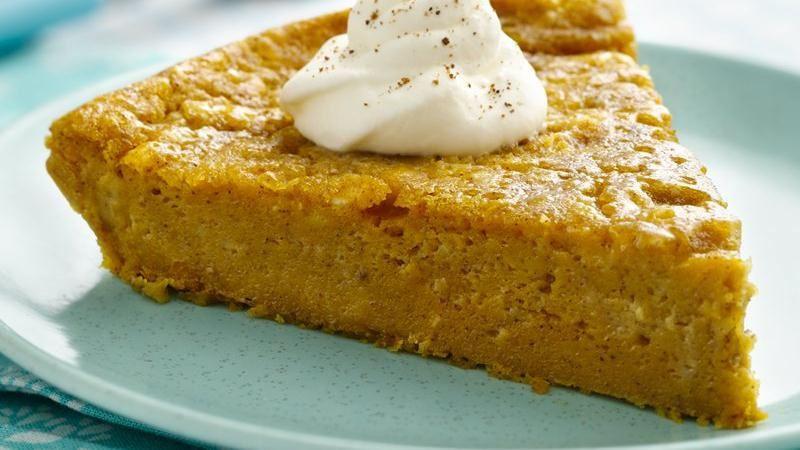 Betty Crocker Pumpkin Pie  Gluten Free Impossibly Easy Pumpkin Pie recipe from Betty