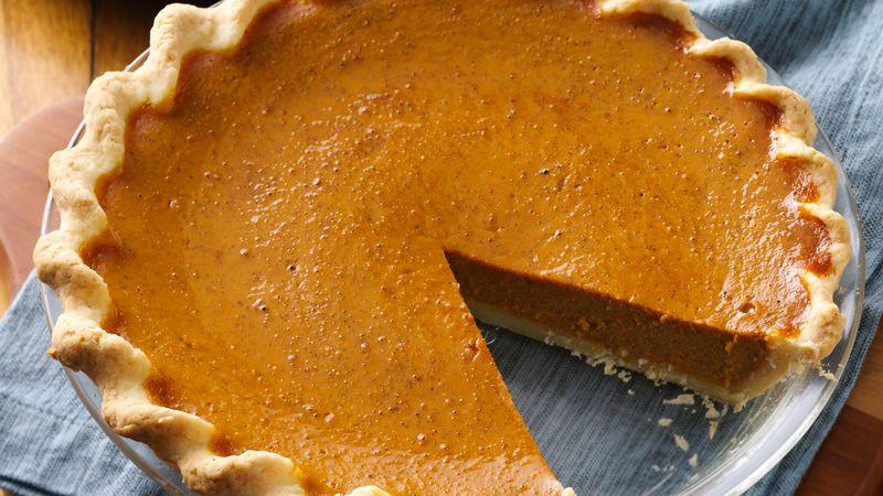 Betty Crocker Pumpkin Pie  Gluten Free Pumpkin Pie recipe from Betty Crocker