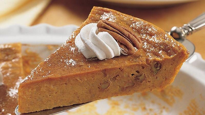 Betty Crocker Pumpkin Pie  Impossibly Easy Pumpkin Pecan Pie