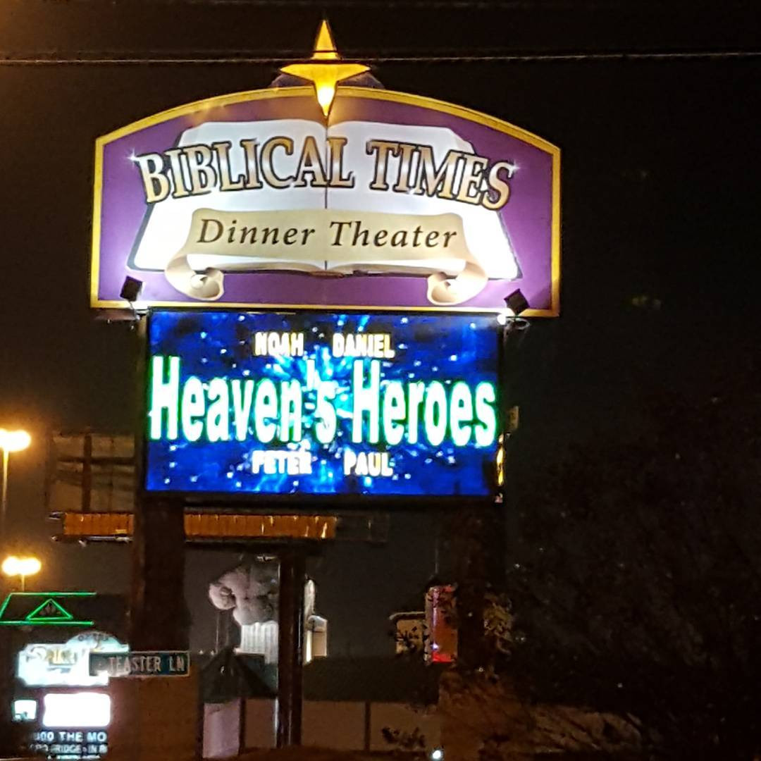 Biblical Times Dinner Theater  Review of Biblical Times Dinner Theater in Pigeon Forge