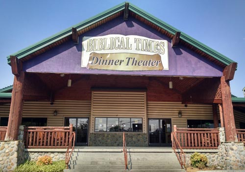 Biblical Times Dinner Theater  The Ole Timey Gospel Breakfast Show Pigeon Forge TN