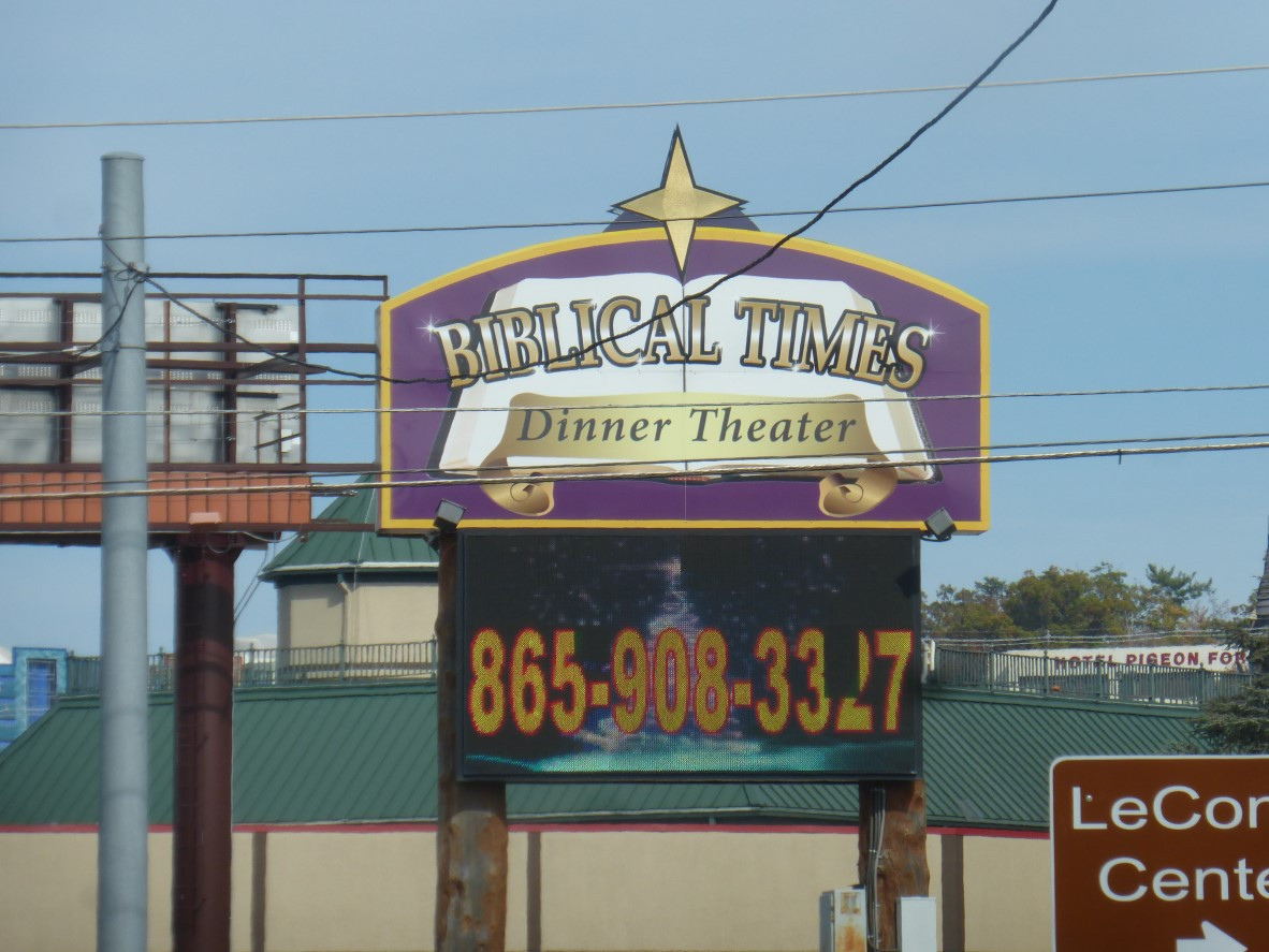 Biblical Times Dinner Theater  The Road Goes Ever