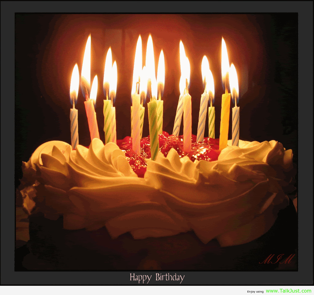 Birthday Cake Candles  Free Birthday Cake With Candles Download Free Clip Art