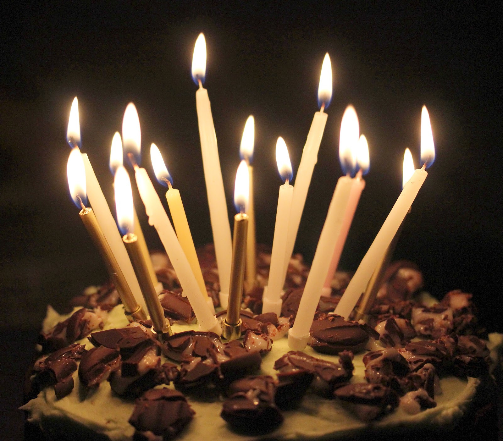Birthday Cake Candles  Top 20 Chocolate birthday cake with candles