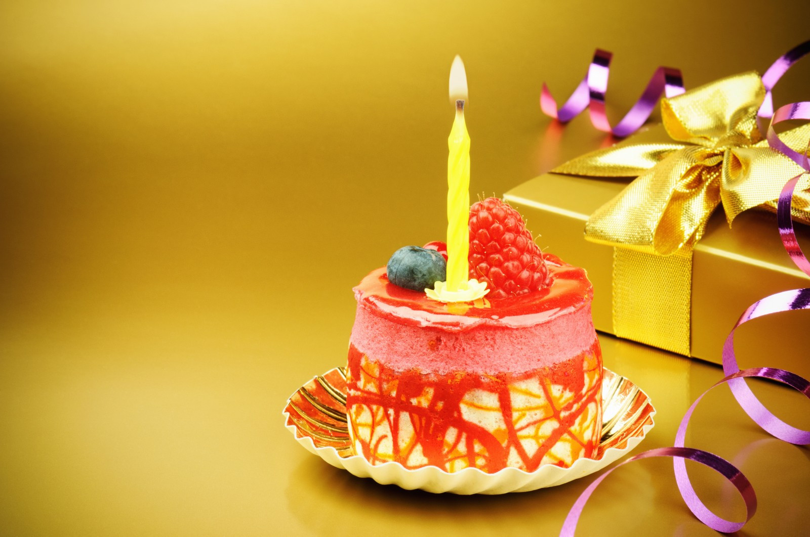 Birthday Cake Candles  Birthday Cake With Candles and