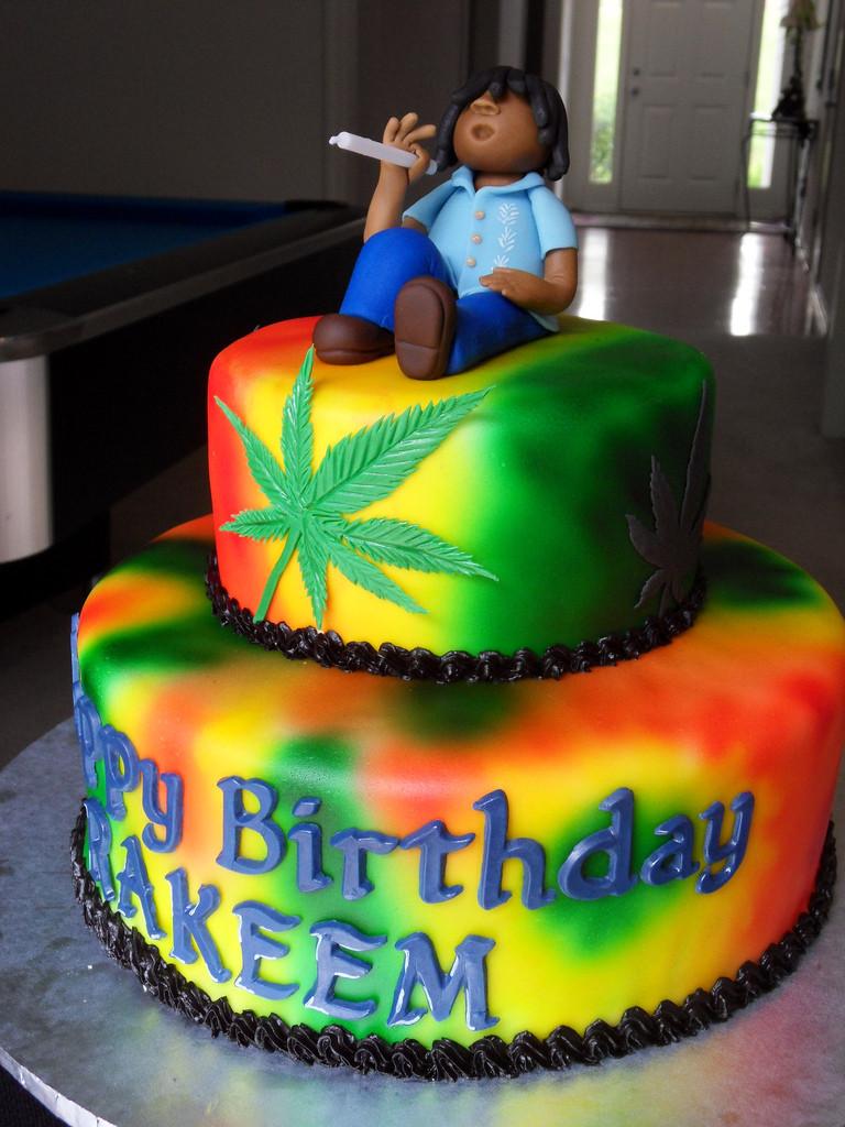 Birthday Cake Weed  Rasta 1