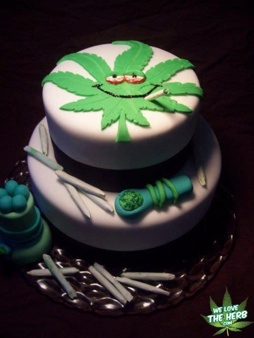 Birthday Cake Weed  Weed Plant Birthday Cakes
