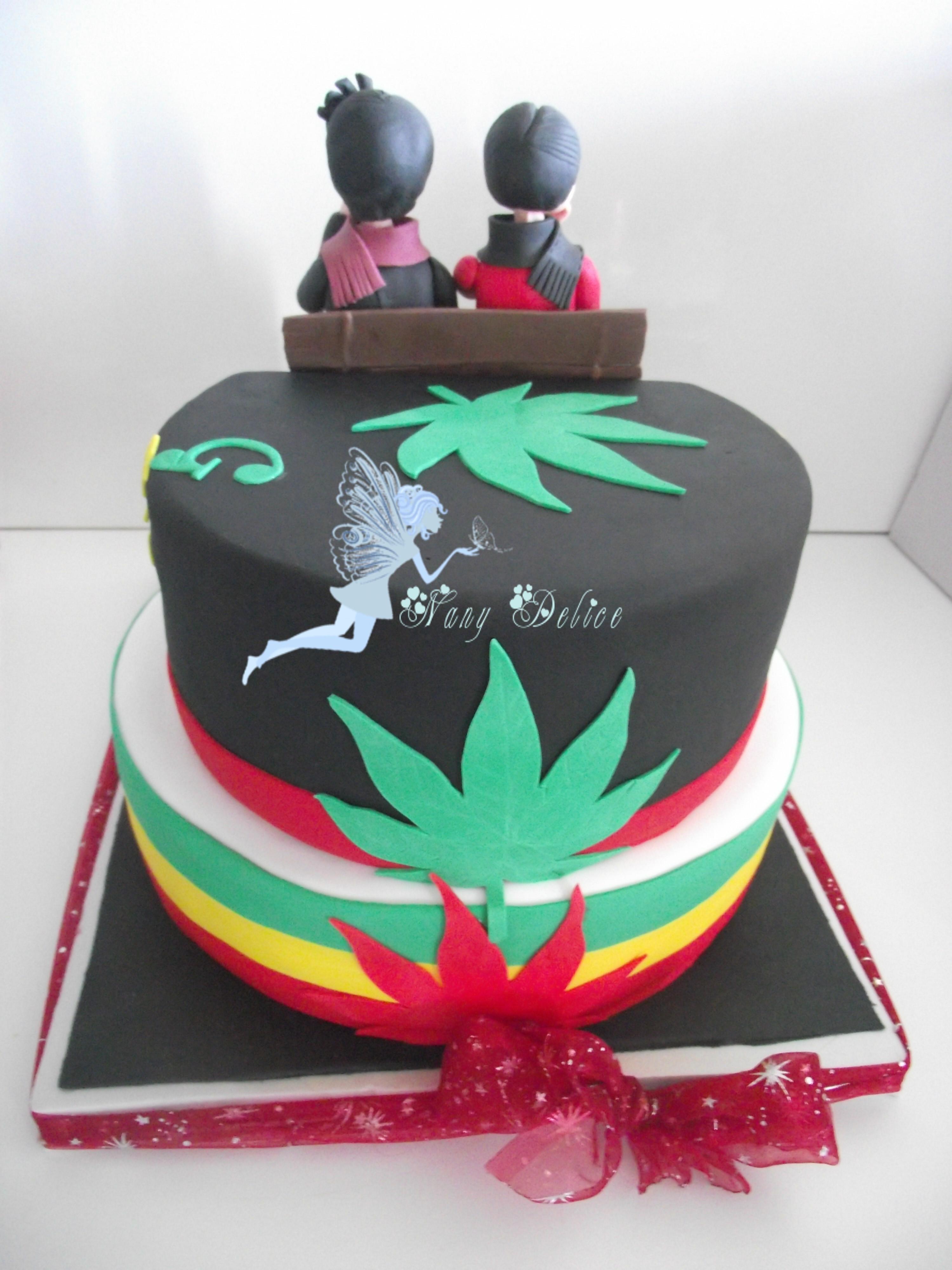 Birthday Cake Weed  Marijuana Cake CakeCentral