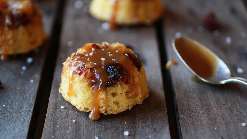 Bisquick Pineapple Upside Down Cake  Pineapple Upside Down Salted Caramel Mini Bundt Cakes