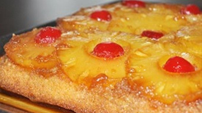 Bisquick Pineapple Upside Down Cake  Easy Pineapple Upside Down Cake recipe from Tablespoon