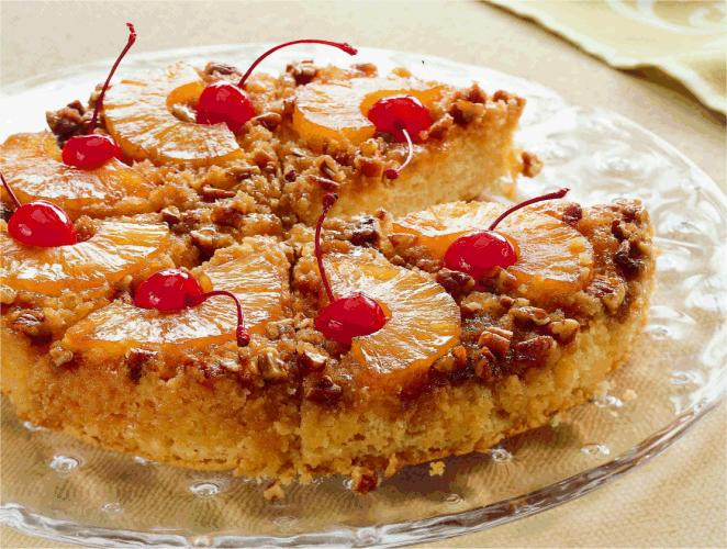 Bisquick Pineapple Upside Down Cake  Pineapple Upside Down Cake