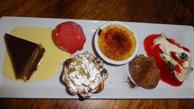 Bistro Dessert Crossword  Review Les Délices de France in Roodepoort Eat Out