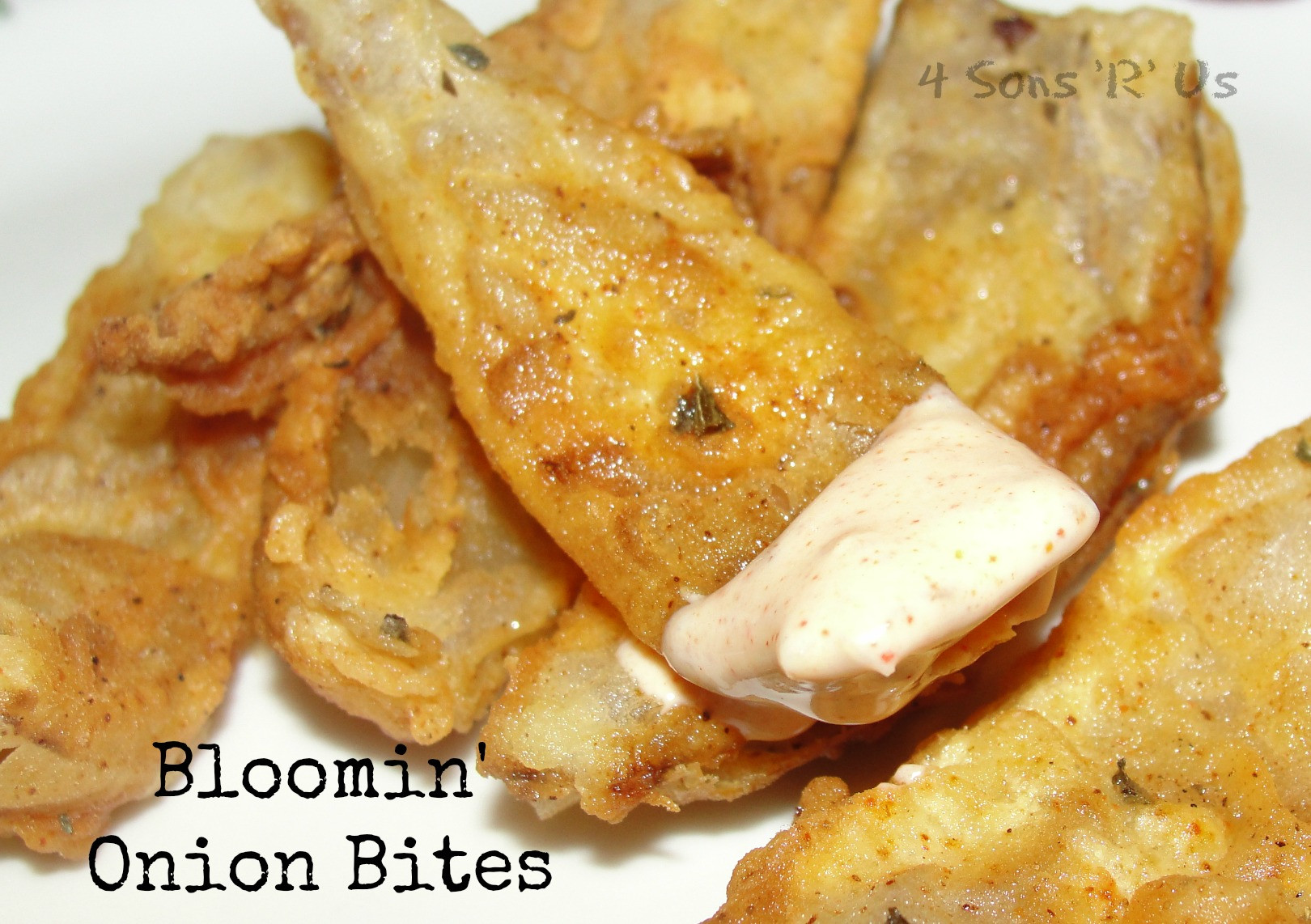 Bloomin Onion Sauce  Bloomin ion Bites with Dipping Sauce 4 Sons R Us