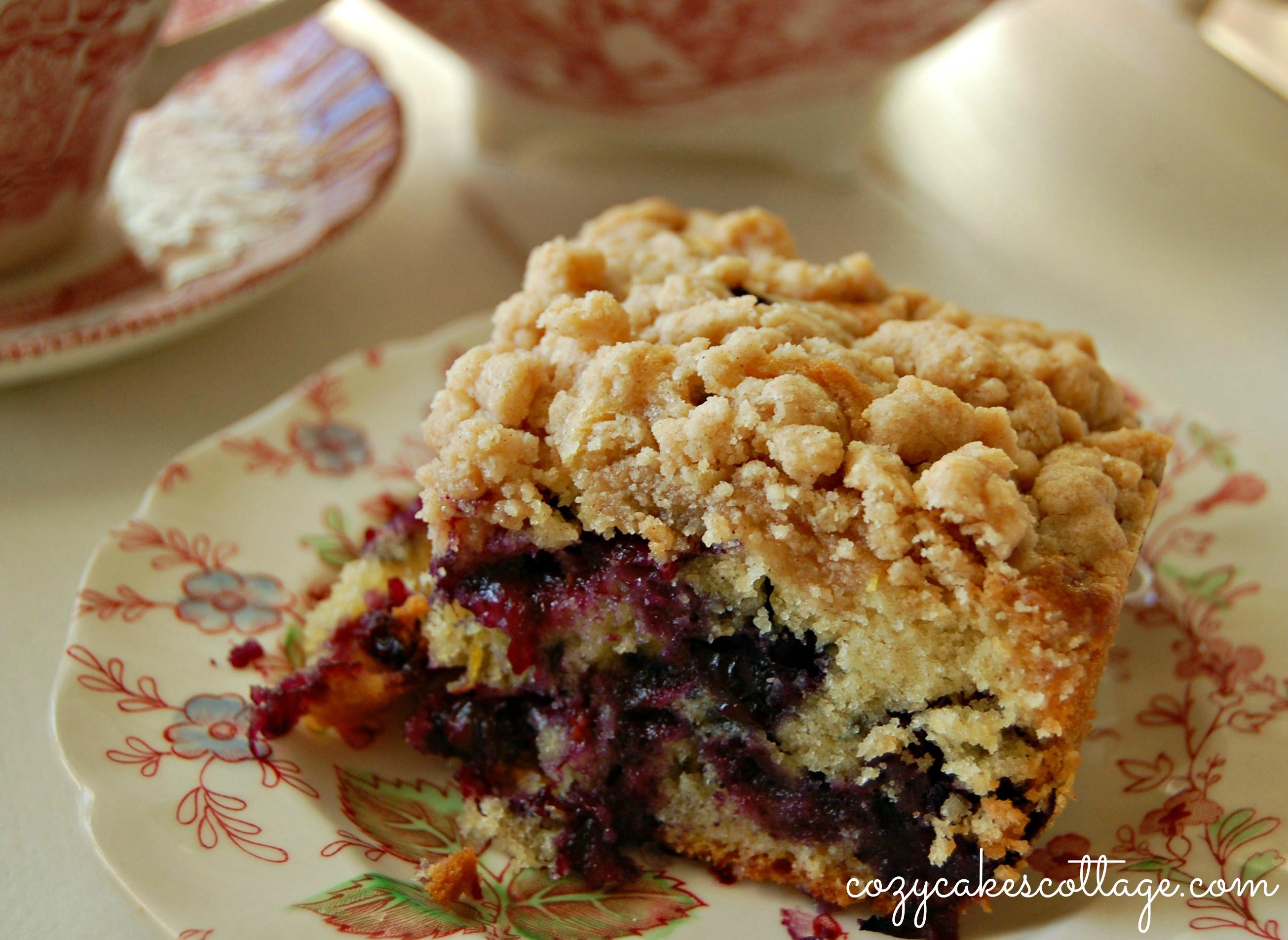 Blueberry Crumb Cake  Blueberry Burst Crumb Cake
