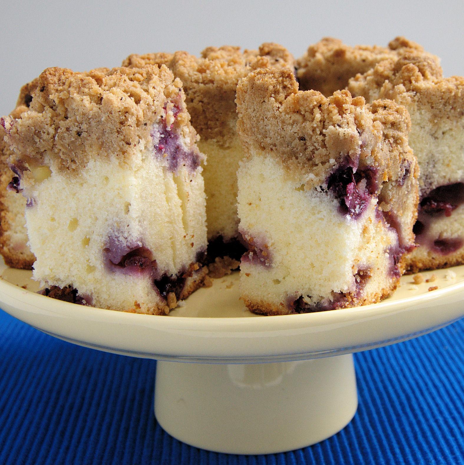 Blueberry Crumb Cake  Blueberry Crumb Cake Baking Sense