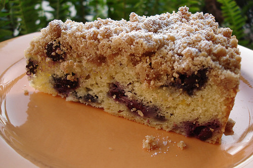 Blueberry Crumb Cake  Food Librarian