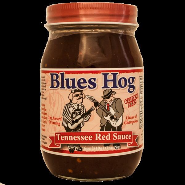 Blues Hog Bbq Sauce  Blues Hog Tennessee Red Sauce 16 oz The Kansas City BBQ