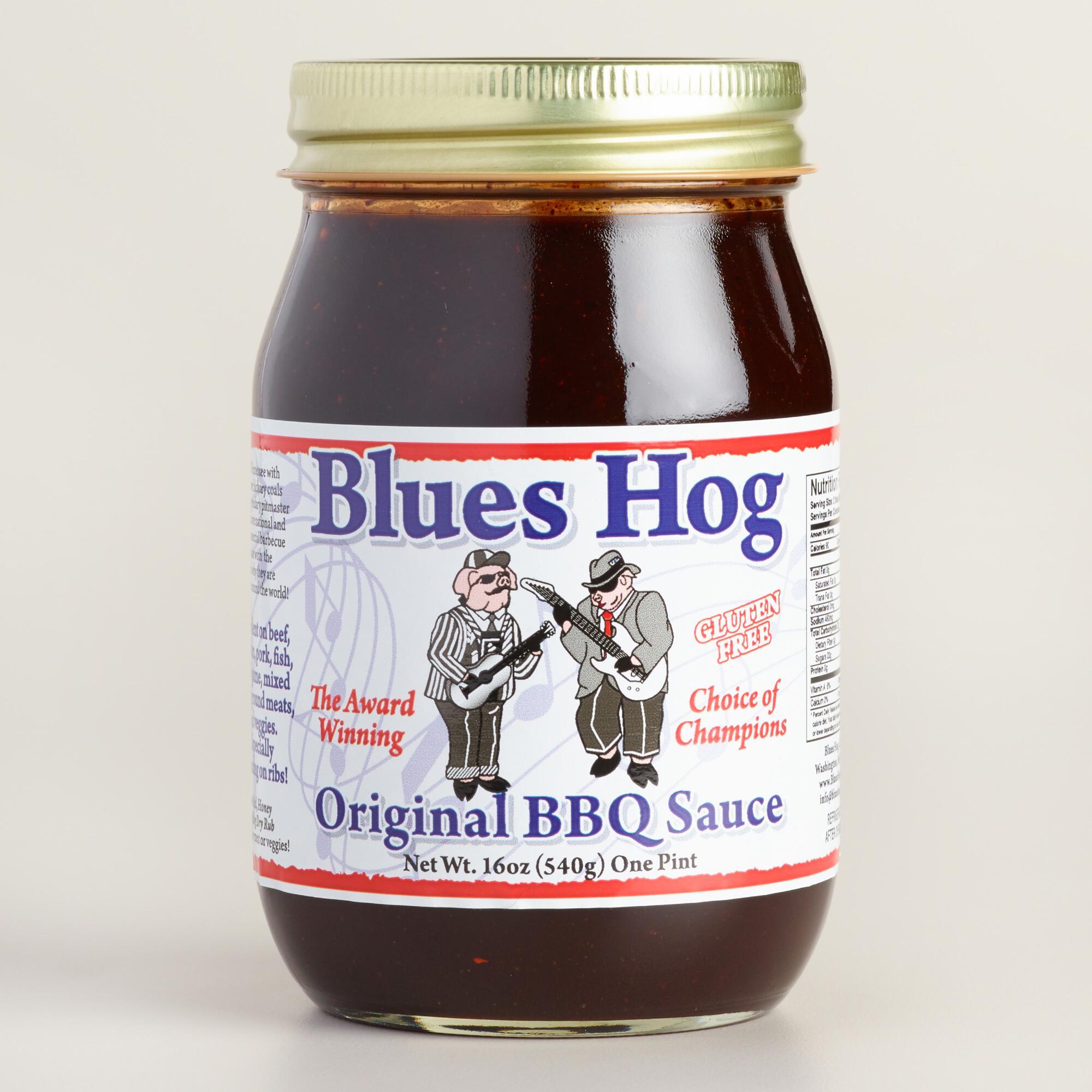 Blues Hog Bbq Sauce  Blues Hog Original Barbecue Sauce Set of 2