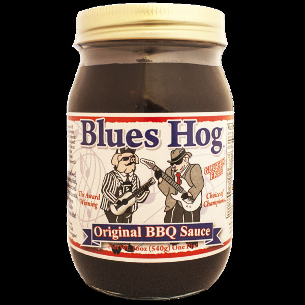 Blues Hog Bbq Sauce  Blues Hog Original BBQ Sauce 16 oz The Kansas City BBQ