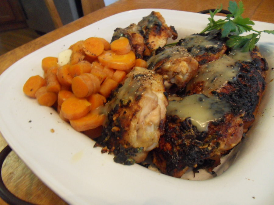 Boiled Chicken Thighs  Lemon Broiled Chicken Thighs by Ekow2286 on DeviantArt