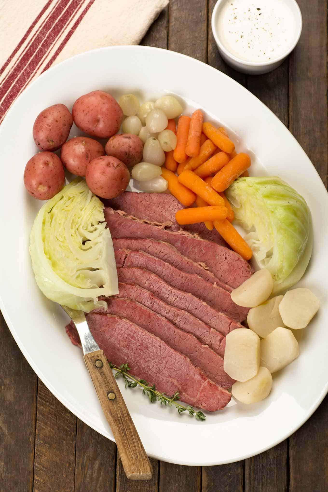 Boiled Dinner Recipe  New England Boiled Dinner