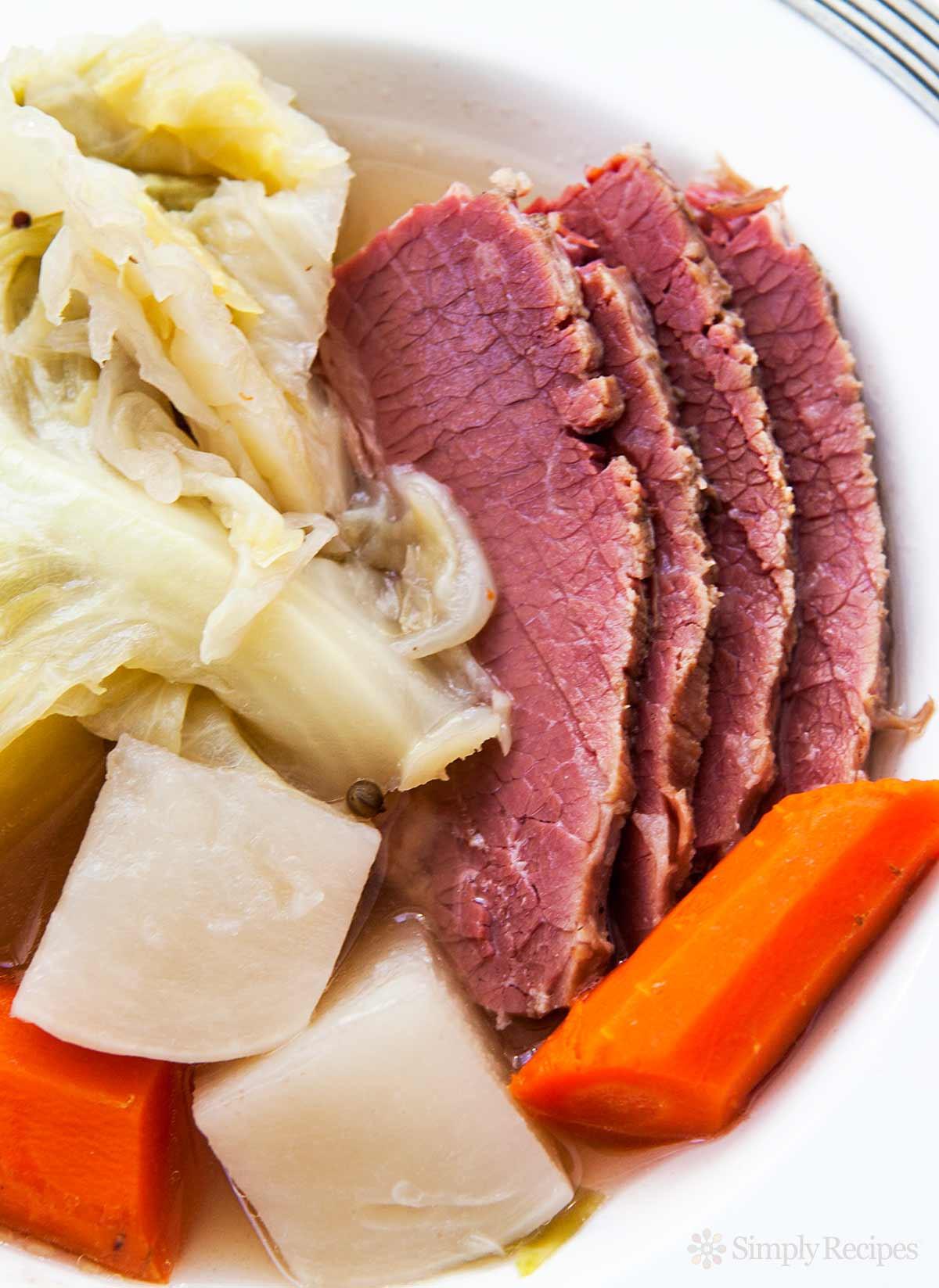 Boiled Dinner Recipe  New England Boiled Dinner Corned Beef or Brisket
