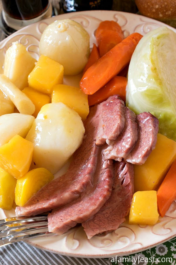Boiled Dinner Recipe  New England Boiled Dinner Corned Beef and Cabbage A
