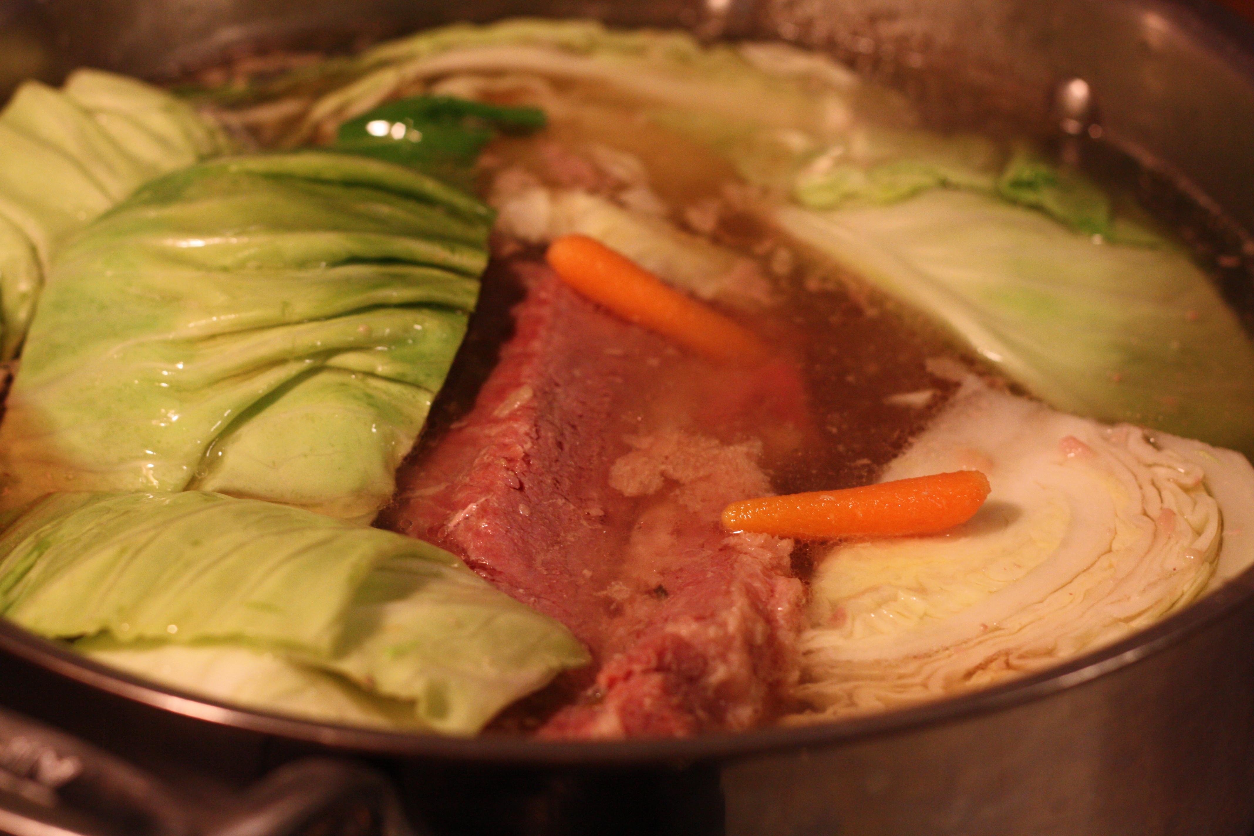 Boiled Dinner Recipe  boiled ham dinner recipe