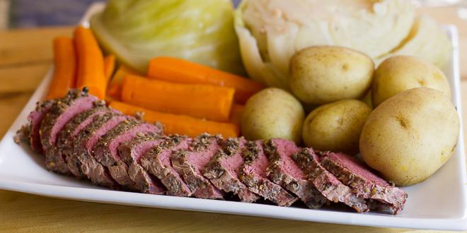 Boiled Dinner Recipe  Irish Boiled Dinner Recipe New England Jiggs Colonist Meal