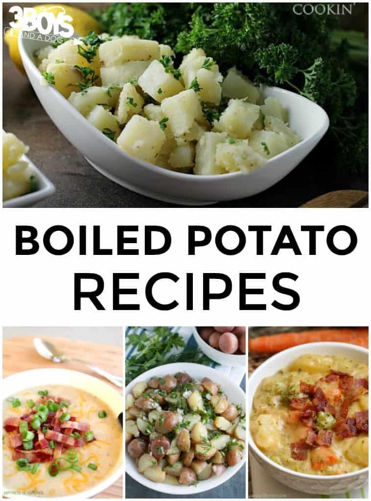 Boiled Potato Recipes  Leftover Boiled Potato Recipes – 3 Boys and a Dog – 3 Boys