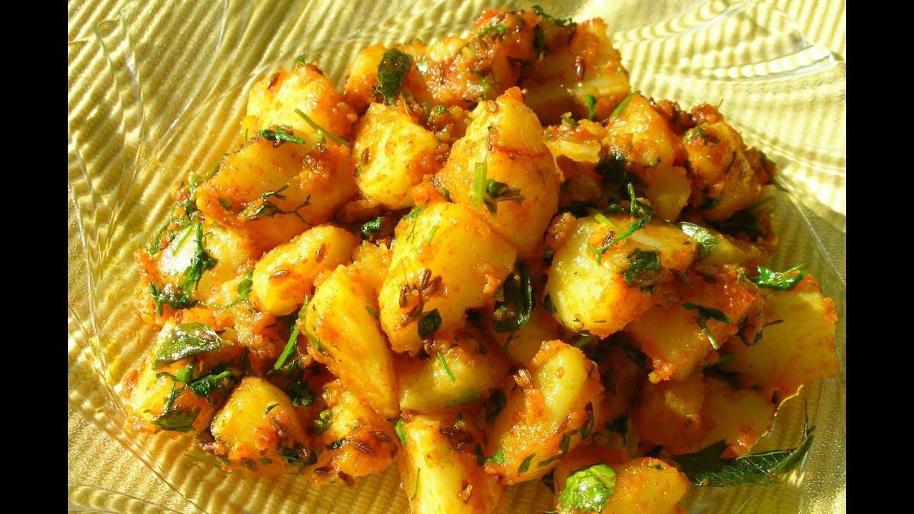 Boiled Potato Recipes  Recipe Boiled Potato Sabzi Gujrati