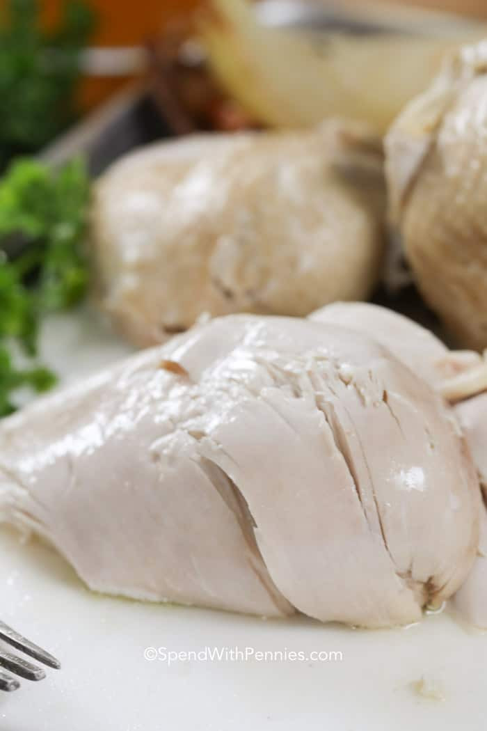 Boiling Chicken Breasts  How to Boil Chicken Spend With Pennies