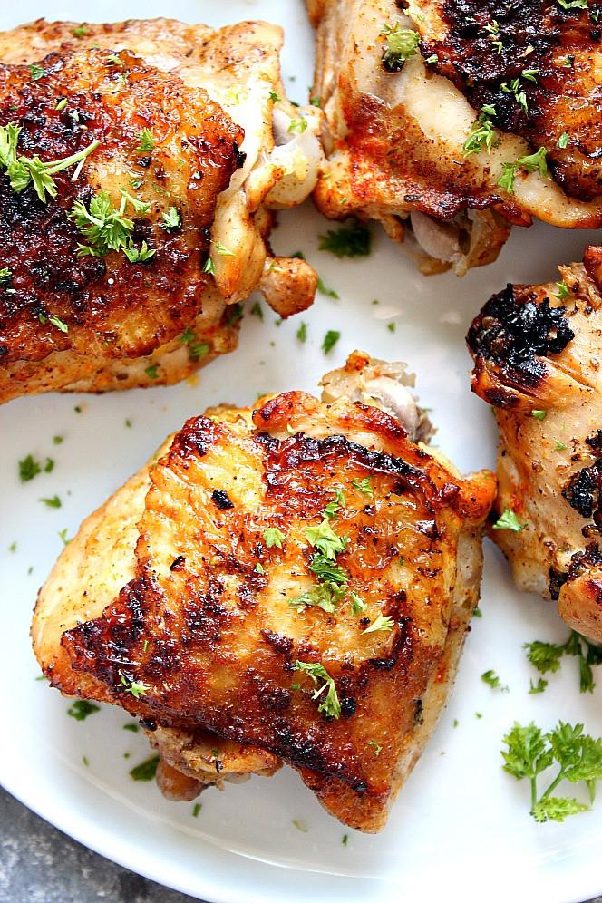 Bone In Chicken Thighs  Instant Pot Chicken Thighs Recipe Crunchy Creamy Sweet