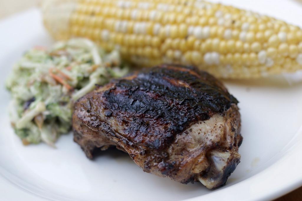Bone In Chicken Thighs  Grilled Bone in Chicken Thighs Honeypie s Recipes
