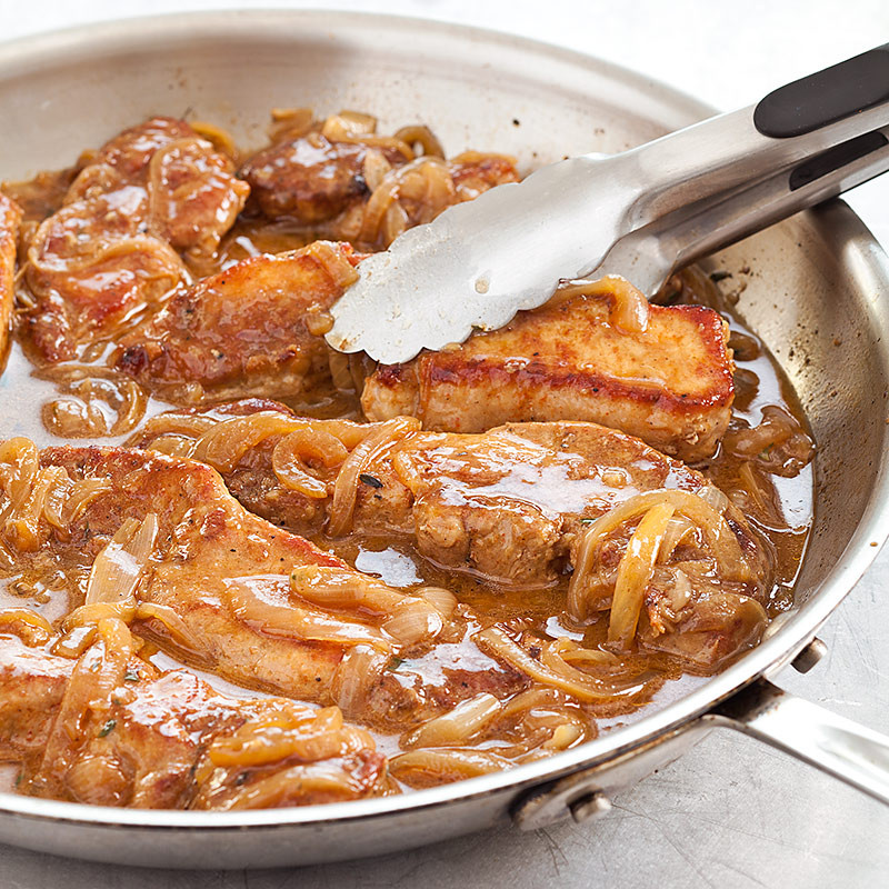 Boneless Pork Ribs Recipes  Smothered Boneless Pork Ribs
