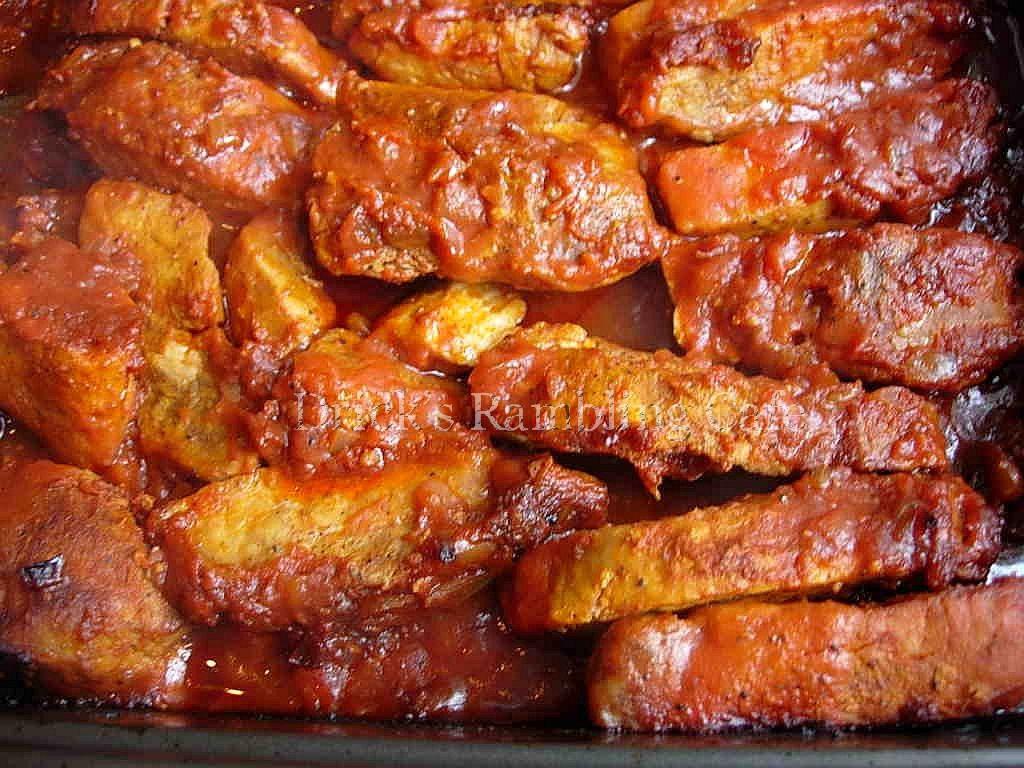 Boneless Pork Ribs Recipes  bbq boneless pork ribs grill