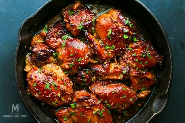 Boneless Skinless Chicken Thighs Recipe  Honey Soy Chicken Thighs Recipe Munchkin Time