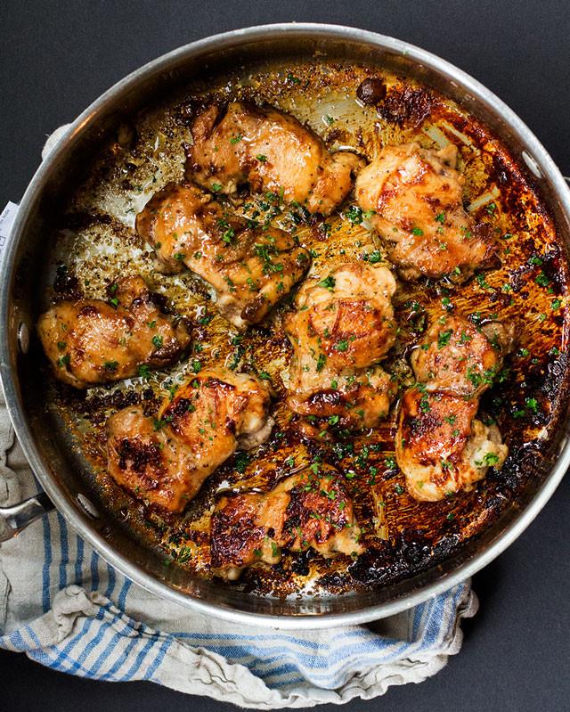 Boneless Skinless Chicken Thighs Recipe  boneless chicken thigh recipes