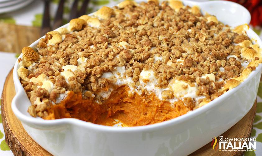 Boston Market Sweet Potato Casserole  Best Ever Herb Roasted Turkey