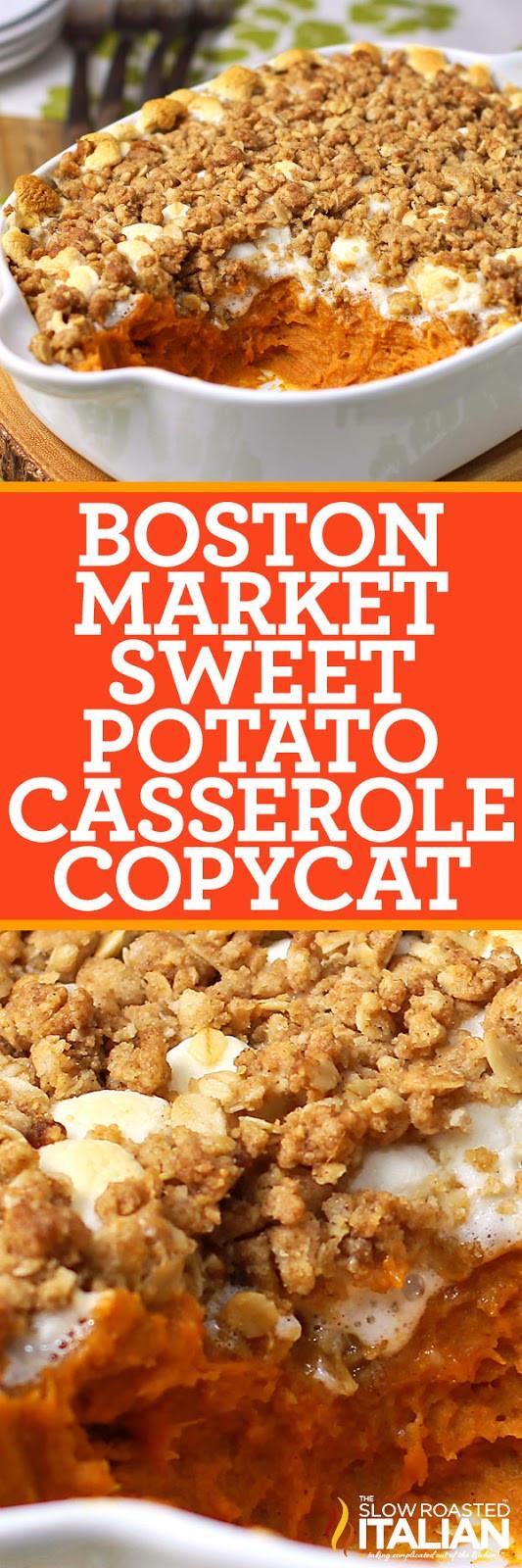 Boston Market Sweet Potato Casserole  Sweet Potato Casserole Boston Market Copycat With Video