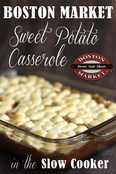 Boston Market Sweet Potato Casserole  Boston Market Sweet Potato Casserole Crock Pot Just like