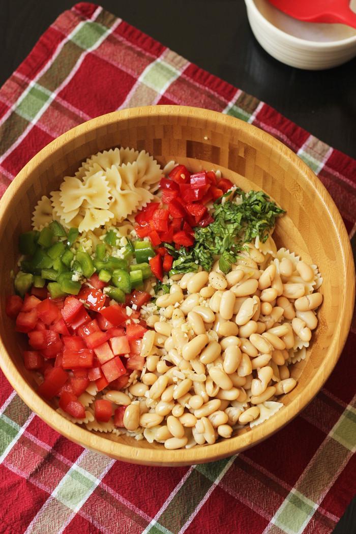 Bowtie Pasta Salad  Cannellini Bowtie Pasta Salad Ultimate Recipe Swap