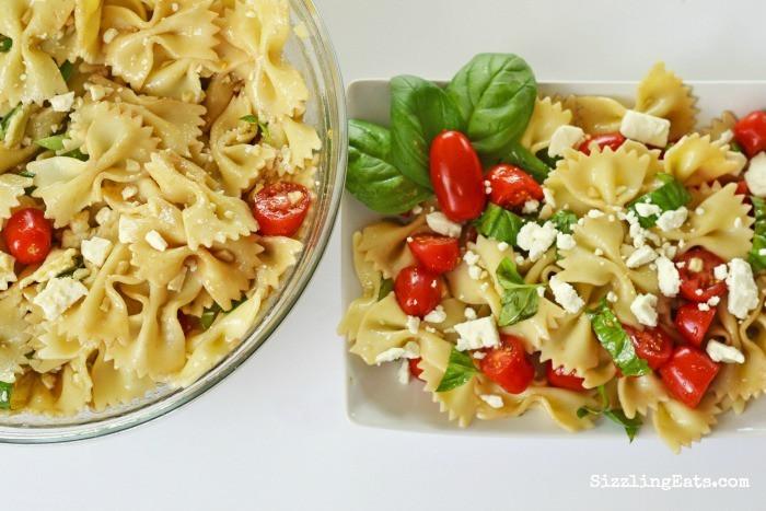 Bowtie Pasta Salad  A Bowtie Pasta Salad Recipe You ll Love ⋆ Sizzling Eats