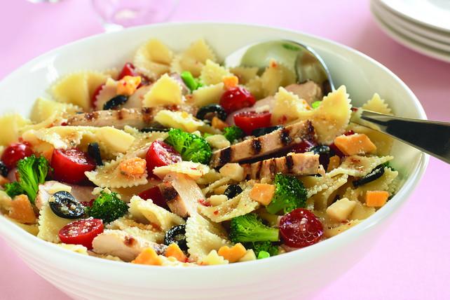 Bowtie Pasta Salad  Chicken Bow Tie Pasta Salad Kraft Recipes