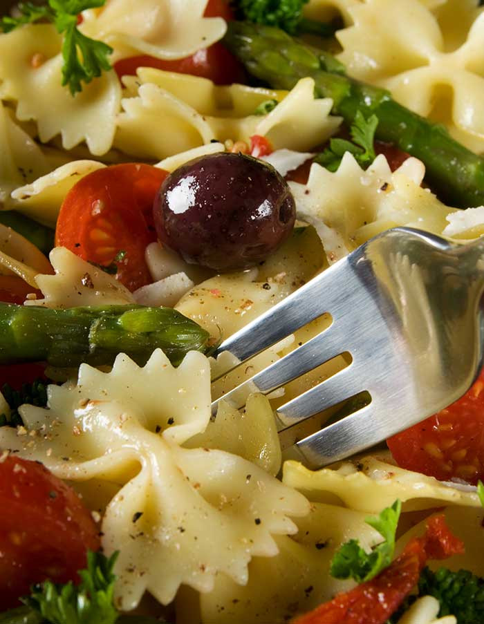 Bowtie Pasta Salad  Asparagus Bow Tie Pasta Salad The Cooking Mom