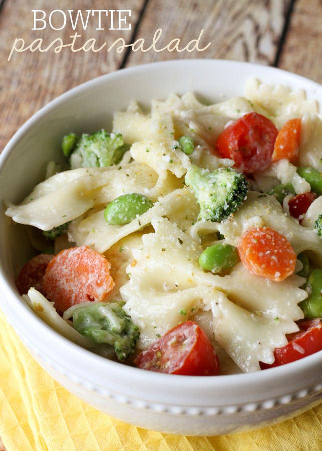 Bowtie Pasta Salad  Bowtie Pasta Salad
